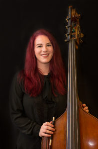 Double bass teacher Kassandra Ferrero