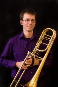 Trombone teacher Nicholas Gragg picture