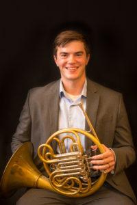 French Horn teacher Matthew Judd picture