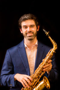 Saxophone teacher Travis